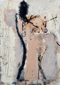 RAGNA BRUNO Figure oil on board, 13 x 9 inches $1800