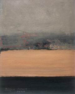 RAGNA BRUNO Landscape oil on board, 10 x 8 inches $1200