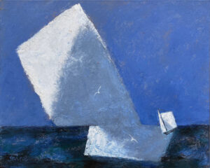 WILLIAM IRVINE The Drifting Cloud oil on canvas, 24 x 30 SOLD