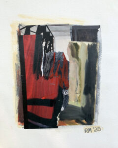 ROSIE MOORE Underpass mixed media on paper, 20 x 16 inches $1800
