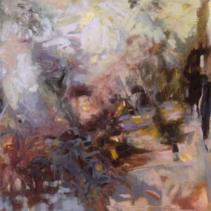 LINDA PACKARD Nesting oil on canvas, 36 x 36 inches $3800