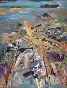 JON IMBER Bob's Ledge, 2003 oil on panel, 34 x 26 inches $20,000