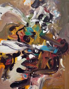 JON IMBER Flower III, 2007 oil on panel, 14 x 11 inches $10,000