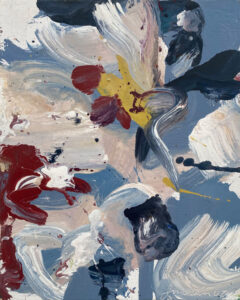 JON IMBER Flower I, 2007 oil on panel, 10 x 8 inches $7000