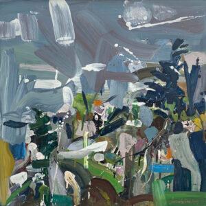 JON IMBER Hillside, 2003 oil on panel, 24 x 24 inches $20,000