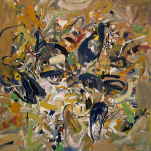 JON IMBER Mussel Bed oil on panel, 36 x 36 inches $25,000