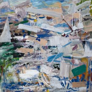 JON IMBER Sail, 2011 oil on panel, 30 x 30 inches $20,000