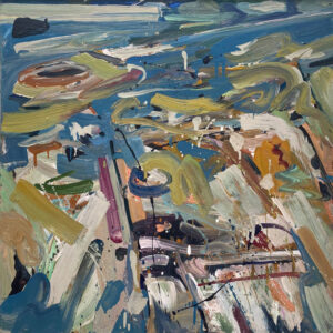 JON IMBER Tidal Out, 2003 oil on panel, 24 x 24 inches $18,000