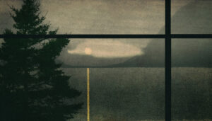 LILIAN DAY THORPE Bedroom Fog photomontage, edition of 15, 7 x 12.5 inches $600